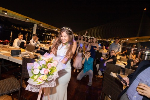 private wedding cruise in bangkok
