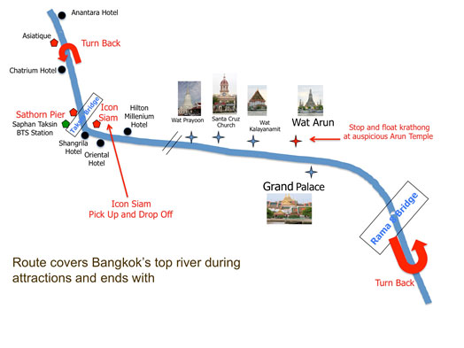 loy krathong route map