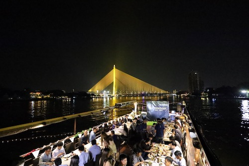 private dinner cruise in bangkok